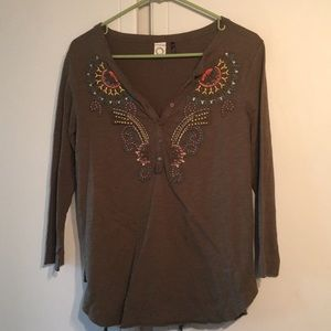 Anthropologie top size small